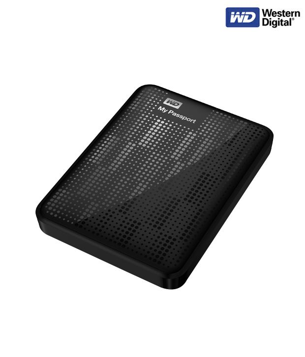 WD My Passport 500 GB Hard Disk (Black)