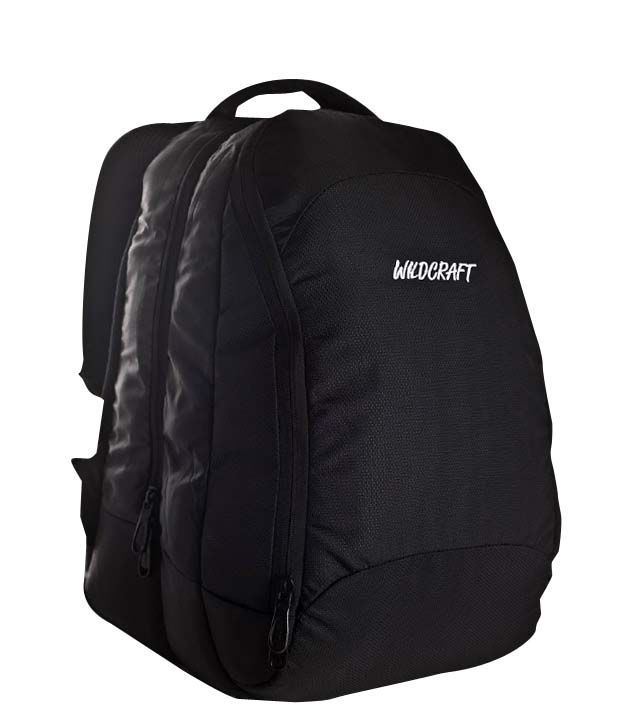Wildcraft Zen Black Laptop Backpack