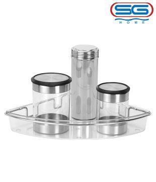 SG Polycarbonate Corner Rack
