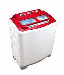 Godrej GWS 6502 6.5 KG Toughend Glass Semi Auto Washing Machine Red