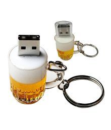 Microware Beer Mug 8GB USB 2.0 Fancy Pendrive Pack of 1