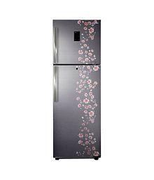 Samsung 345Ltr RT36FDJFALX/TL Double Door Refrigerator Orcherry Peach Silver
