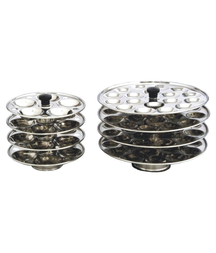 Aristo Stainless Steel Mini Idli Stand Buy Online At Best