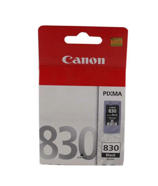 Canon PG-830 Inkjet Cartridge (Black)