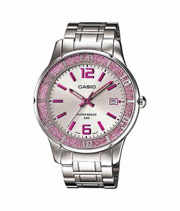 af7f63049ef Casio Classic Analog LTP-1359D-4AVDF (A809 ) Women s Watch Price in India   Buy Casio Classic Analog LTP-1359D-4AVDF (A809 ) Women s Watch Online at  Snapdeal