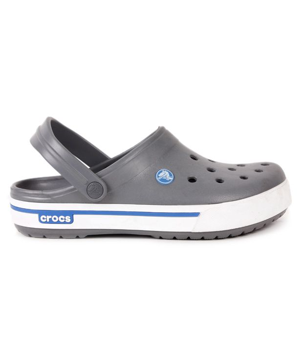 ffad1e997e81 Crocs Charcoal Grey Crocband II.5 Clog Shoes - Buy Crocs Charcoal ...