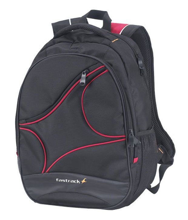 Fastrack Black Laptop Backpack Ac002nbk02ab Art Ftac002nbk02a