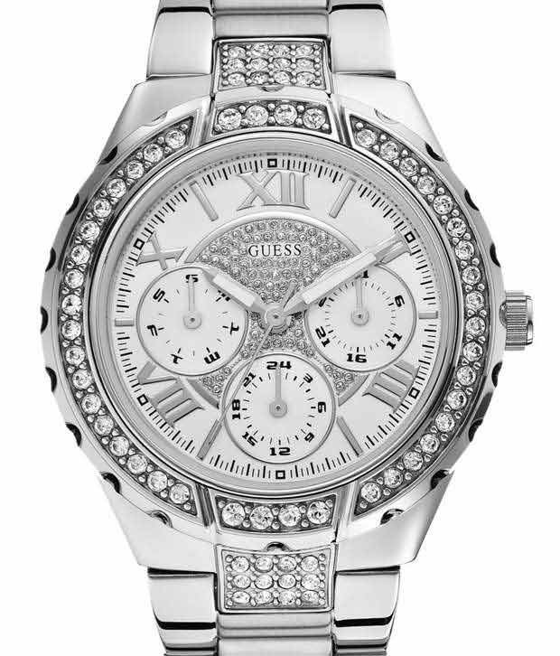 Guess Sparkler W0111L1 Women's Watch Price in India: Buy ...
