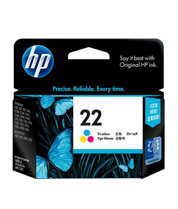 HP 22 Tricolor AP Inkjet Print Cartridge