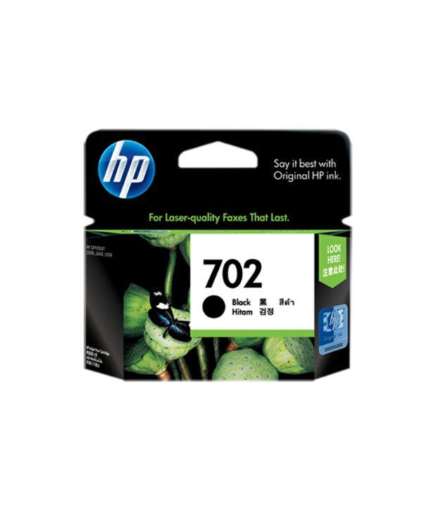 HP 702 Black Inkjet Print Cartridge