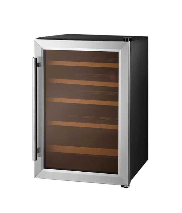 KAFF 16Bottles KWC 62 Single Door Refrigerator Stainless Steel