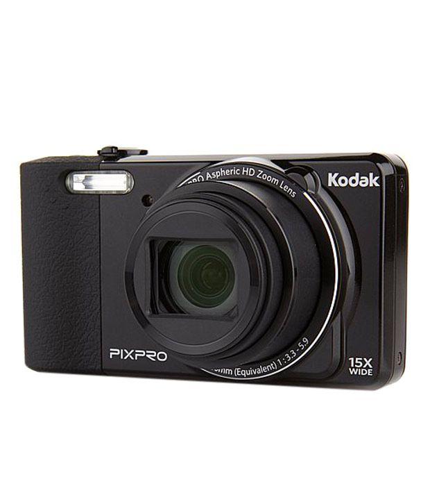 kodak pixpro fz151 point & shoot camera with 2200 mah power bank +  watch +8gb