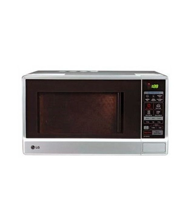 lg 23 ltrs mh 6348bs microwave oven grill microwave ovensilver price