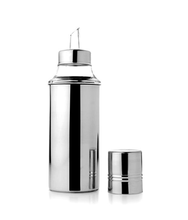 Mosaic Mosaic Oil Dispenser 1000 Ml Steel Oil Container/Dispenser Set Of 1