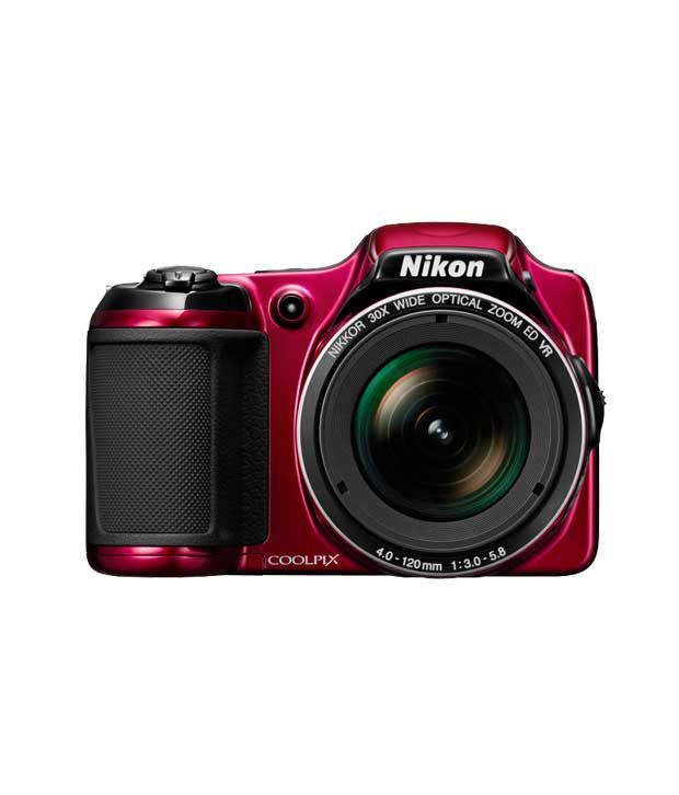 Nikon Coolpix L820 16MP Semi SLR (Red)