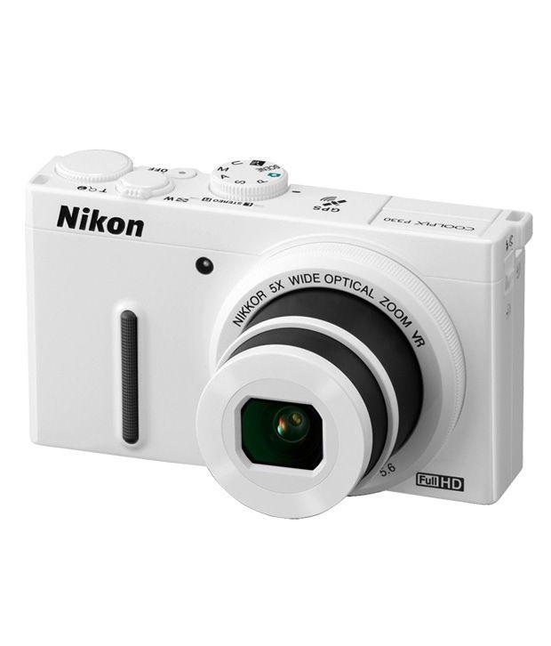 Nikon Coolpix P330 12.2MP Semi SLR (White) Price in India- Buy Nikon ...