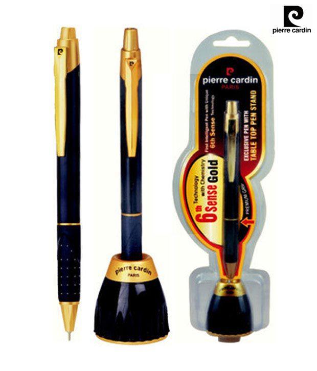 Pierre Cardin 6th Sense Gold Ball Pen (Pack of 2 Pens)
