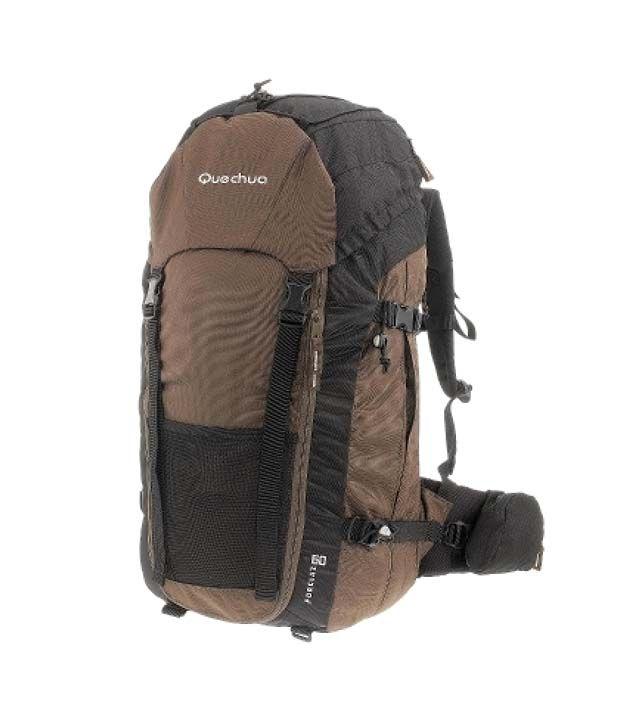82f049e37 Quechua Forclaz 60 Brown Hiking Travel Backpack   Pole Holder 1339595 - Buy Quechua  Forclaz 60 Brown Hiking Travel Backpack   Pole Holder 1339595 Online at ...