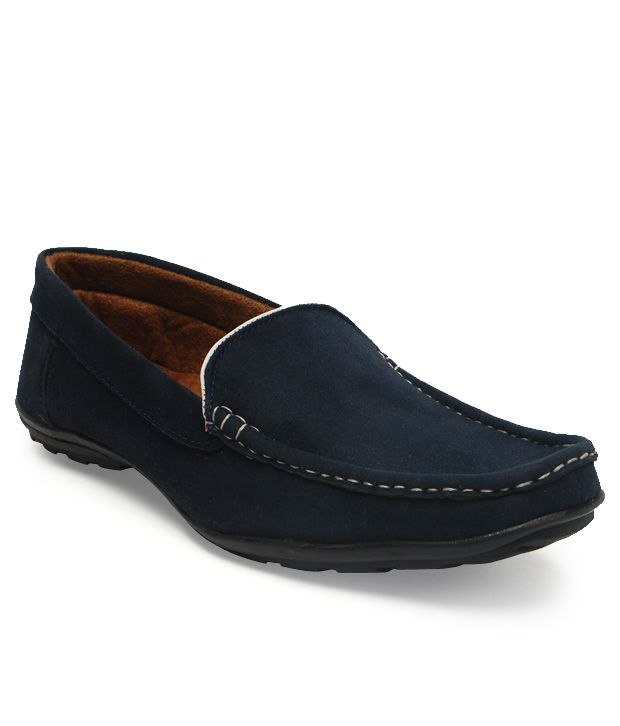 Roony Blue Loafers