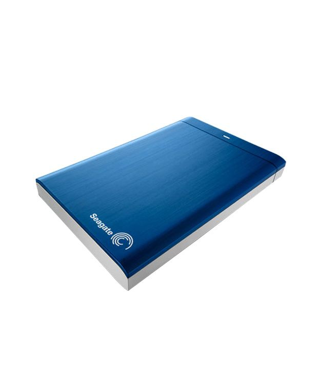 Seagate Backup Plus 500GB Hard Drive (Blue)