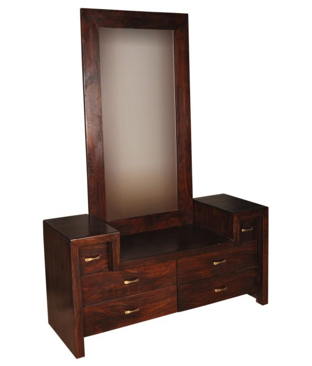 Wooden Dressing Table ~ Sheesham wood classy dressing table buy