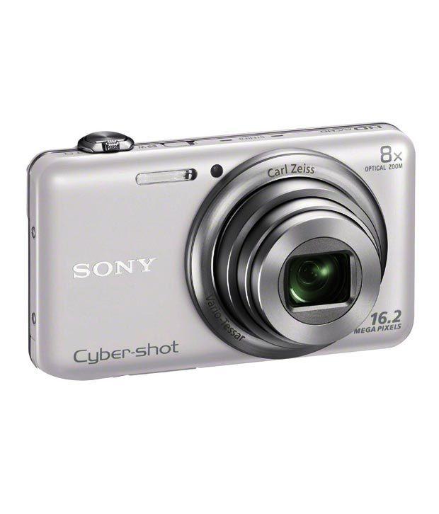 Sony Cybershot WX60 162MP Digital Camera White