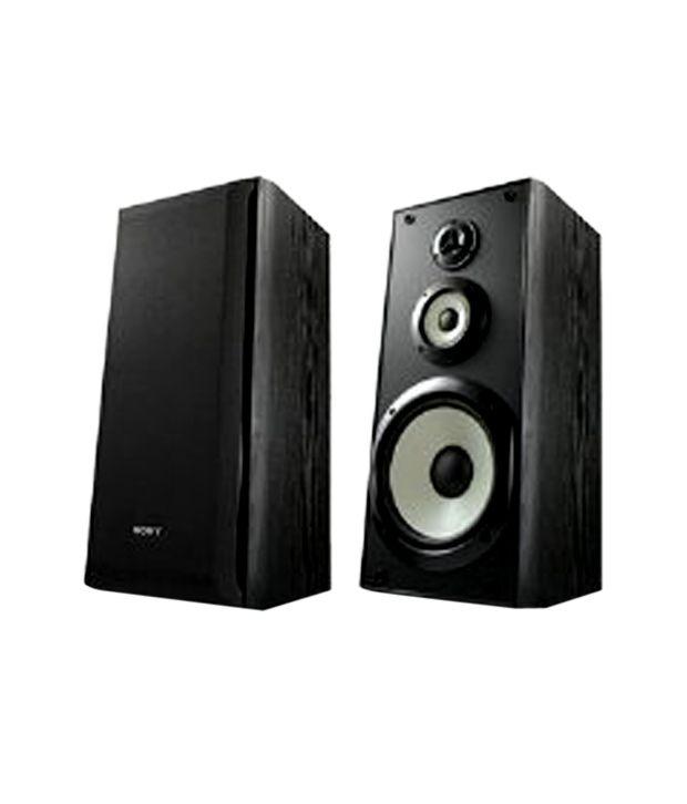 buy sony ss b3000 bookshelf speaker pair black online at best rh snapdeal com