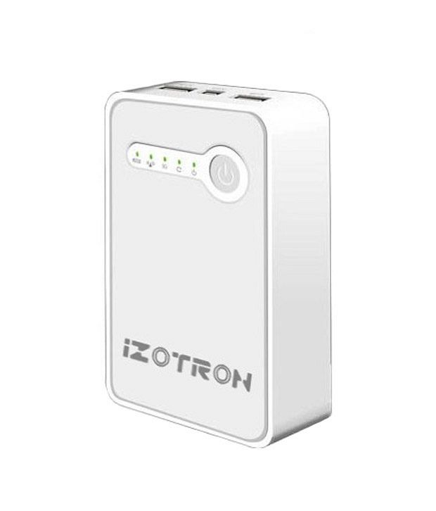 iZOTRON Pocket 3G Wireless Router (Access Point-Ethernet Adapter-Repeater-Portable Device Charger) (WR40003G)