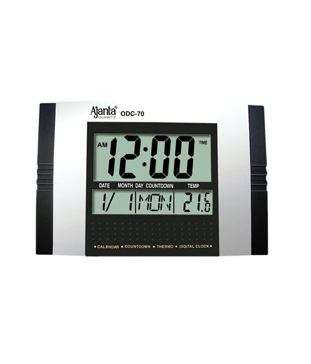 Ajanta Digital Wall Clock Odc 70 Buy Ajanta Digital Wall