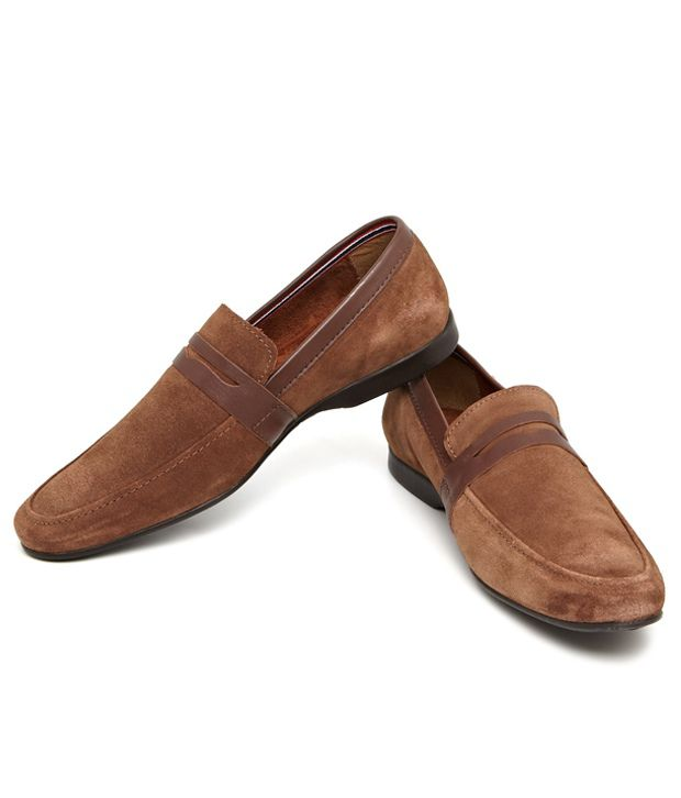 79a036542b9 Arrow Brown Loafers - Buy Arrow Brown Loafers Online at Best Prices in  India on Snapdeal