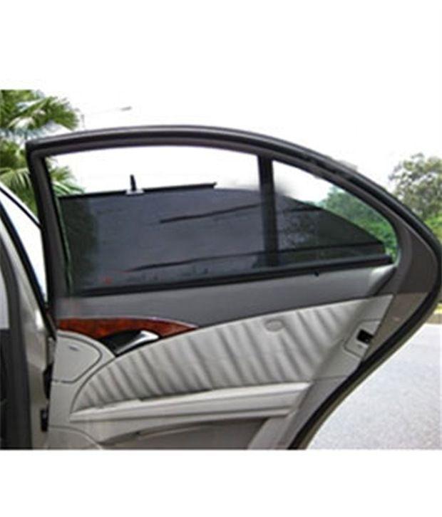 autofurnish car automatic side window sun shade set of 4 for xuv 500 buy autofurnish car. Black Bedroom Furniture Sets. Home Design Ideas