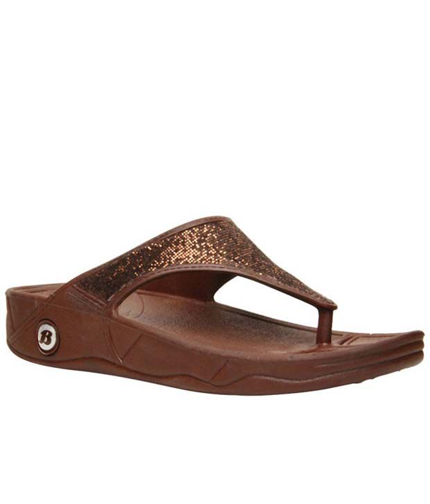 5cd22e46e6da Bata Brown Casual Flats Sandals Price in India- Buy Bata Brown Casual Flats  Sandals Online at Snapdeal