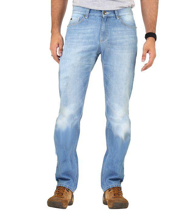Euro Jeans Sky Blue Denim Jeans