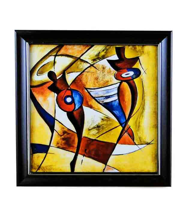 Paint For Glasses Frame : Go Hooked Glass Painting With Frame: Buy Go Hooked Glass ...