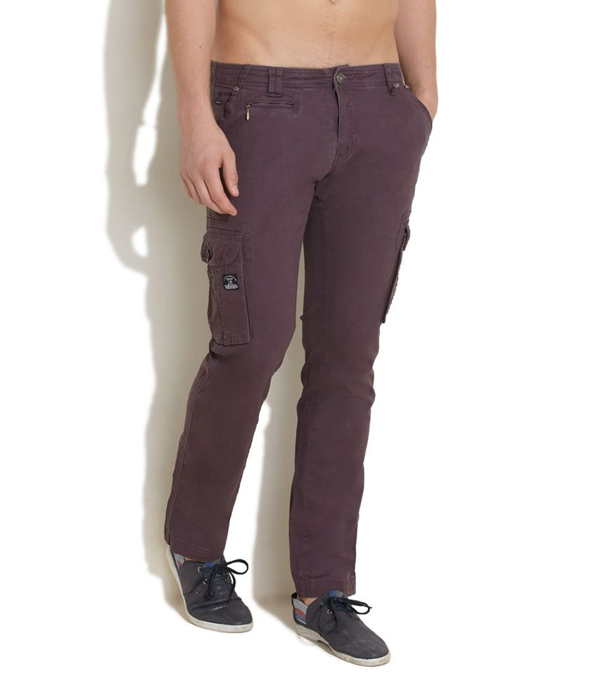King And I Purple Frontline To Fashion Ramp Cargos