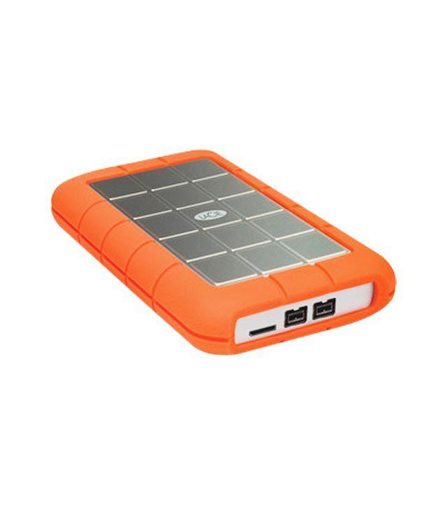 Lacie 301984 1 TB External Hard Disk (Orange)