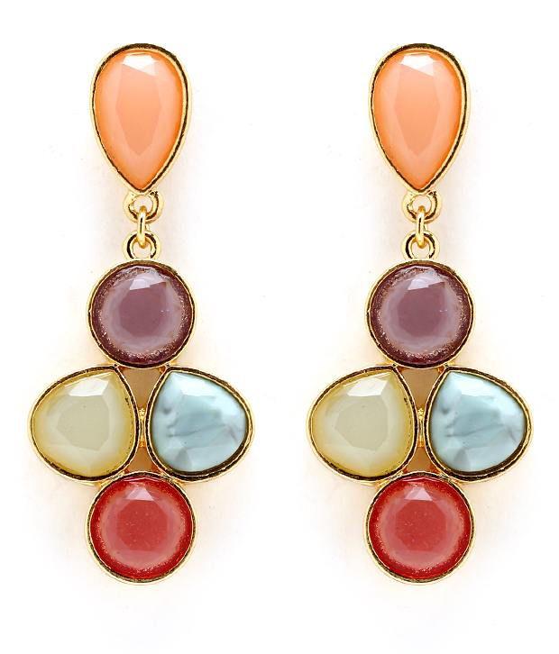 Pari Vibrant Colour Earrings