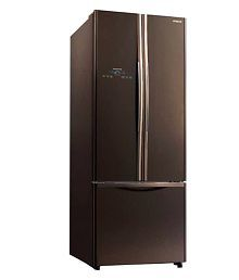 Hitachi 510 Ltr R-WB550PND2-GBW-INVERTER Side By Side Refrigerator Glass Brown