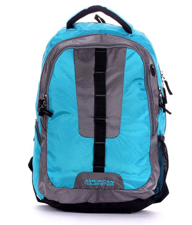 American Tourister Turquoise & Black R53069002 Laptop Bag ...