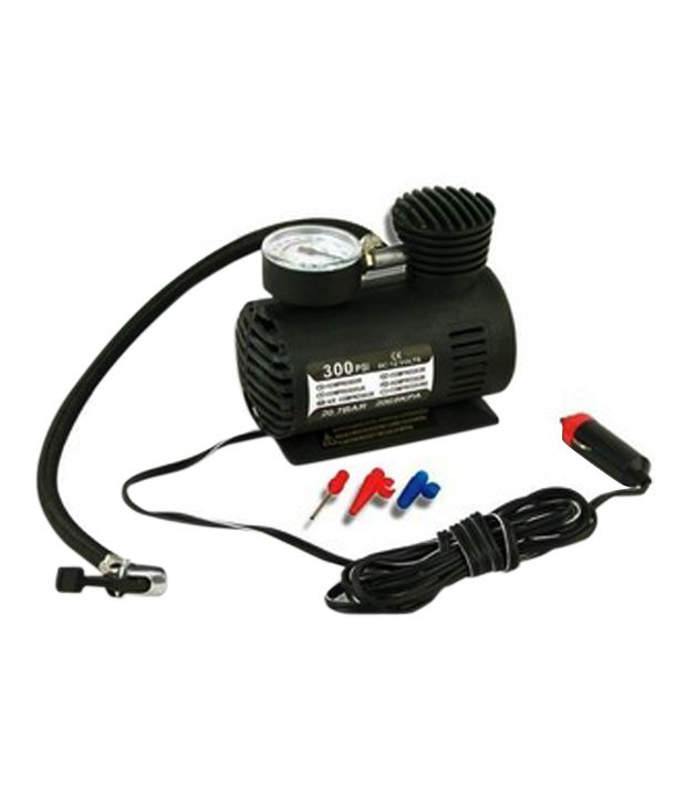 AutoKart - 12V Electric Car Bike Tyre Tire Inflator Air Pump Compressor: Buy AutoKart - 12V ...