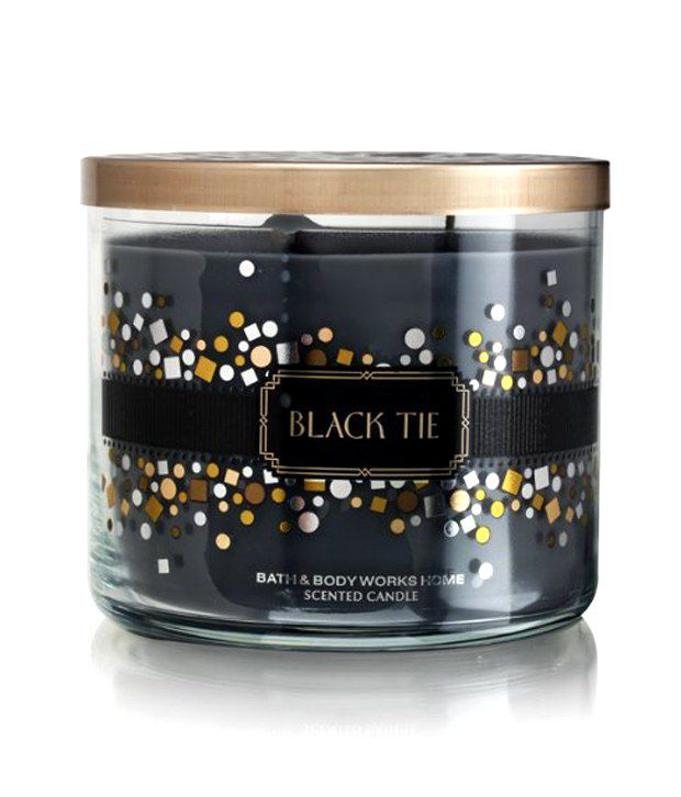 Bath And Body Works Black Tie 3 Wick Scented Candle Buy