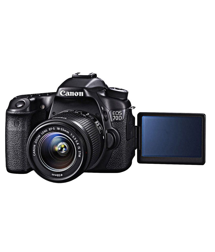 Camera Eos 70d Dslr Camera canon eos 70d with 18 55mm lens price in india buy lens