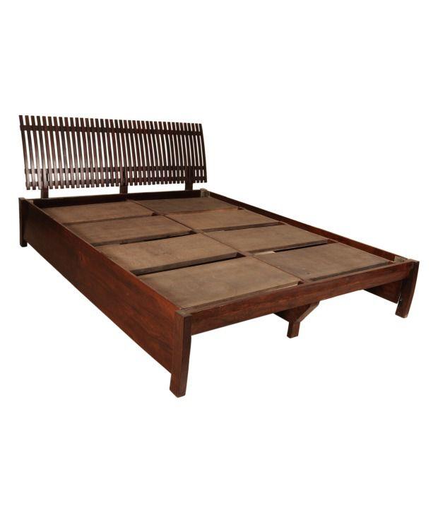 Sheesham Wood Queen Size Bed ...