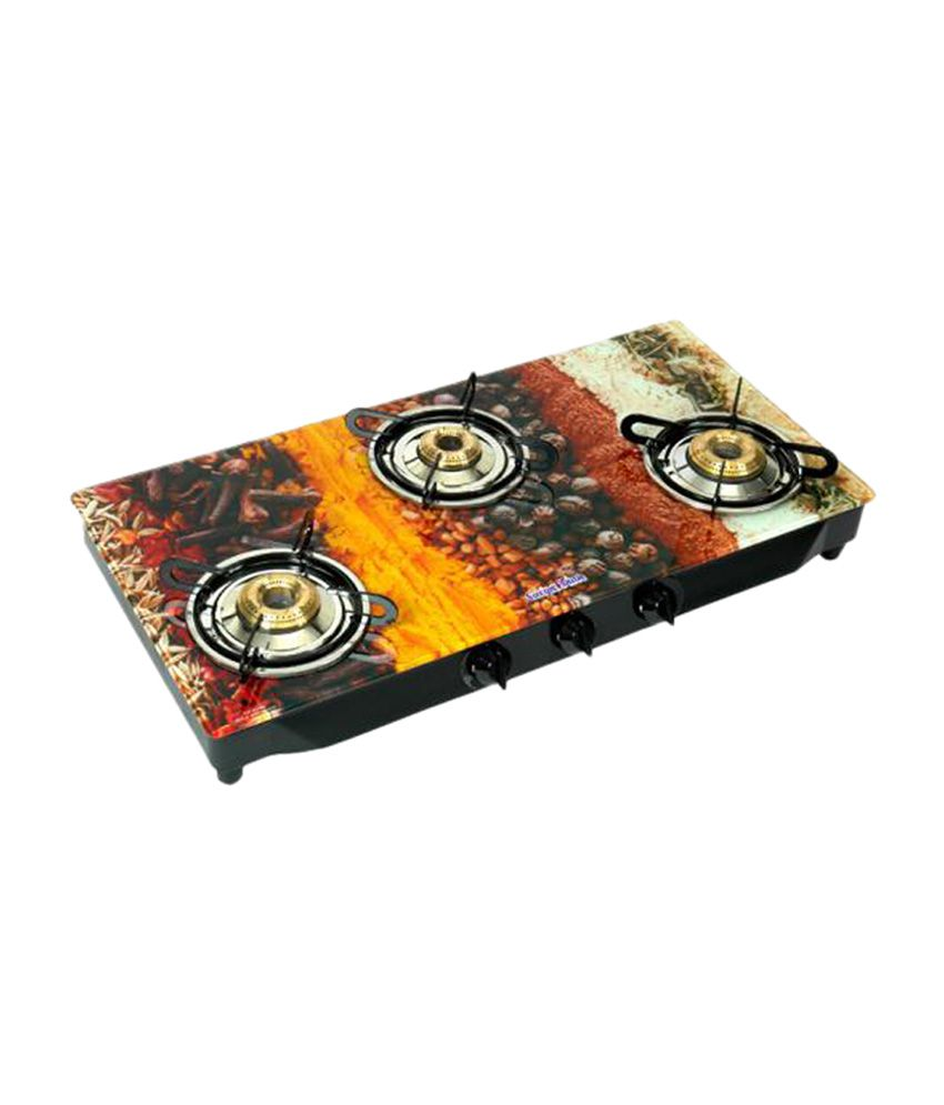 Surya-Flame-Spice-SFSC-GL-1023B-Gas-Cooktop-(3-Burner)