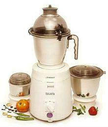 Sujata Dynamix 900 W 3 Jar Mixer Grinder