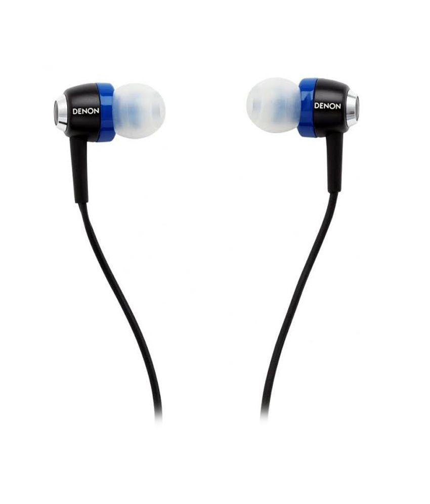 Denon AH-C100 In Ear Earphones With Mic