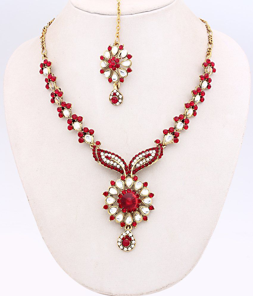 Ethnic Jewels Elegant Affordable Necklace Set