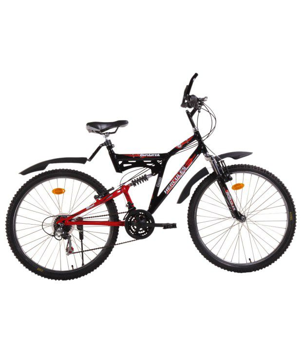 f39f7c7f2dc Hercules Sparta 18 Speed Bicycle: Buy Online at Best Price on Snapdeal