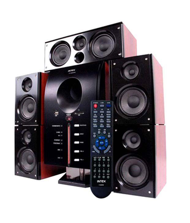 Buy Intex It 4850 Suf 5 1 Speaker System Online At Best