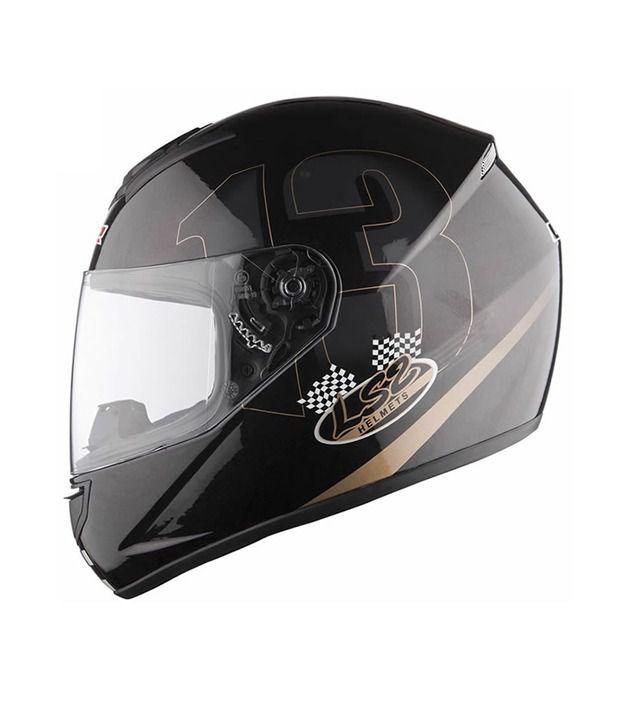 72b5d5cc LS2 - Helmet - FF 351 Poker (Gold-Black) [Size : 58cms] - ECE Certified:  Buy LS2 - Helmet - FF 351 Poker (Gold-Black) [Size : 58cms] - ECE Certified  Online ...